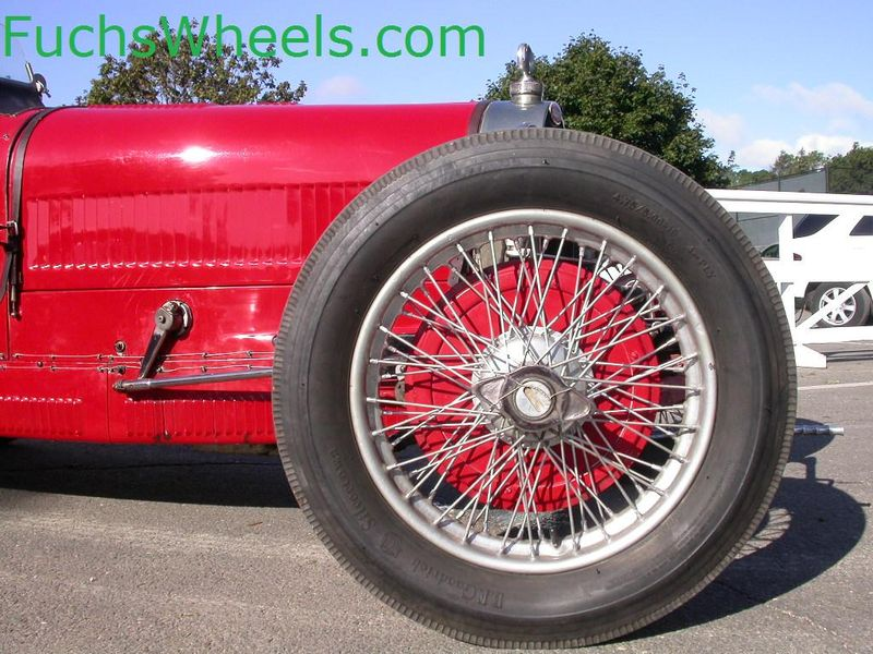 Fuchs Wheels: Vintage Race Car Wheels
