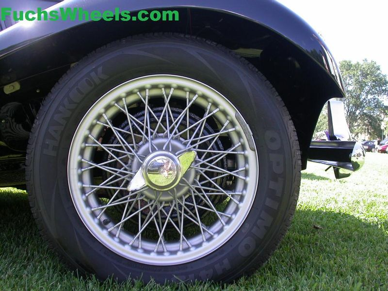 MG TC Wheels