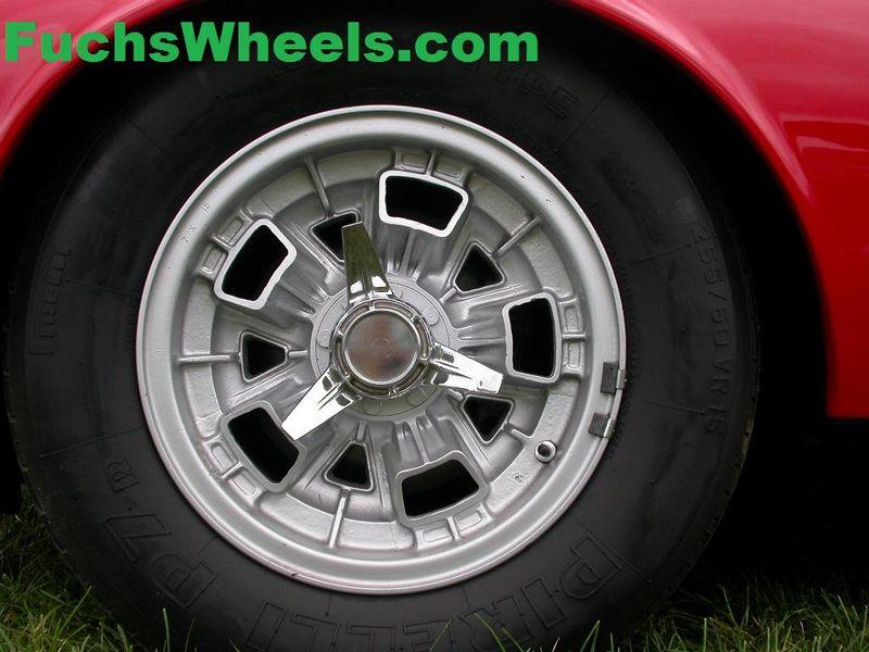 Fuchs Wheels Lamborghini Miura Wheels
