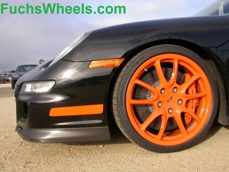 Porsche GT3-RS-Orange-Wheels