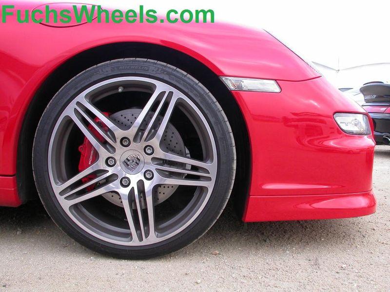 Red-911-Turbo-Wheels